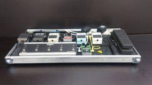 přepravní obal transport-case na kytarové efekty, pedalboard, dunlop