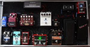 přepravní obal transport-case na kytarové efekty, pedalboard, boss, delay