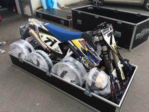Přepravní obal na motocross