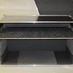 Case double door rack + vysuvná lišta