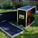 Flightcase na kombo + pedalboard