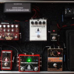 Pedalboard na kytarové efekty Flightcase