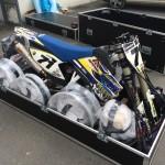 Flightcase na moto